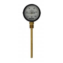 Termometro Bimetalico 0-150°C Reto